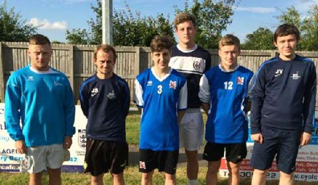 NAFC young players