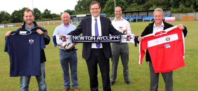 newton aycliffe fc corporate competition july 2014 2