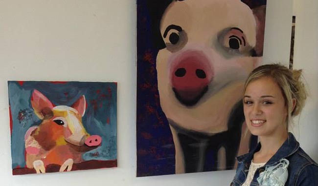 woodham academy art exhibition 1