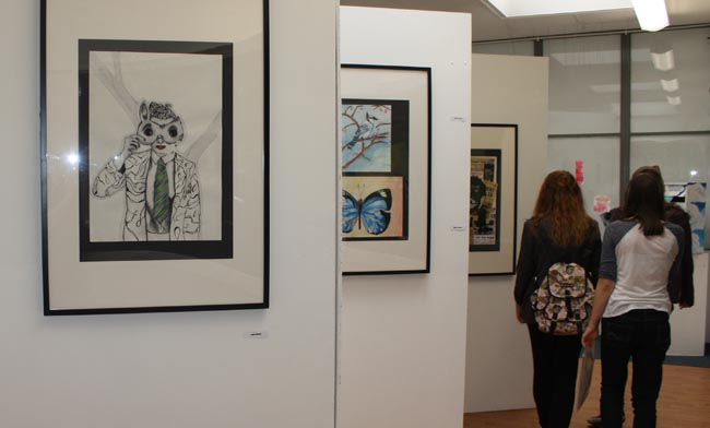 woodham academy art exhibition 3