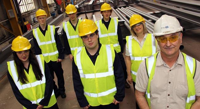 SWDT Durham Uni students visit Finley Structures 2