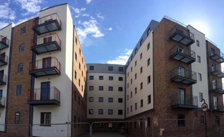 AYCLIFFE STEEL COMPLETES NEWCASTLE STUDENT FLATS