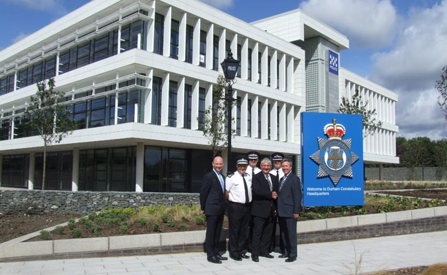 new Durham Constabulary HQ handover
