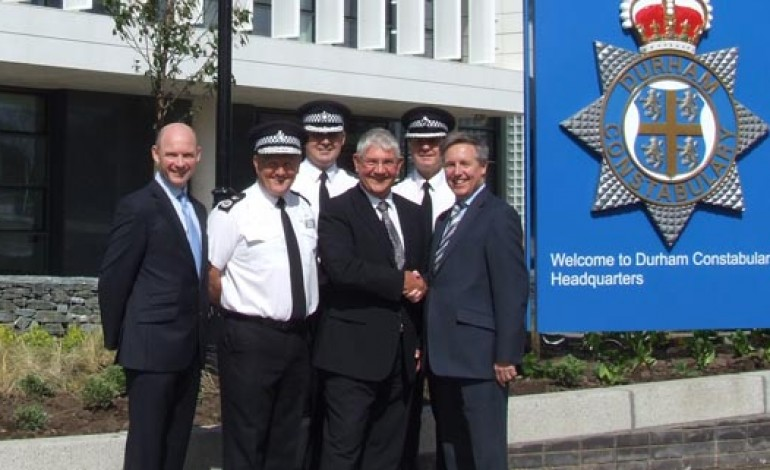 HANDOVER DAY FOR NEW DURHAM POLICE HQ