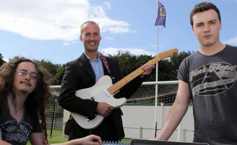 MUSICIAN AIMING FOR STARS AFTER WINNING STADIUM NAMING RIGHTS