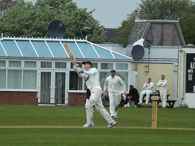 Dan Craggs batting