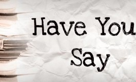 Have your say on getting involved in planning