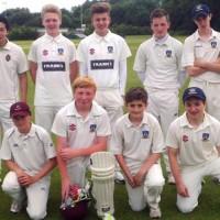 CRICKET CLUB'S U-15s IN CUP FINAL