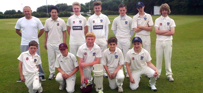 Newton Aycliffe Cricket Club Under-15s 2014