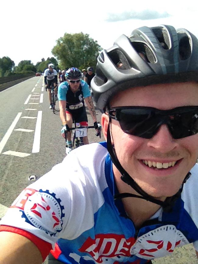 anthony cox charity cycle 2