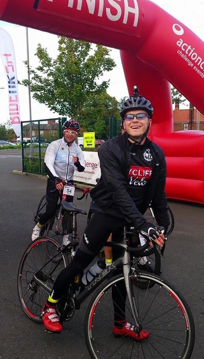anthony cox charity cycle 5