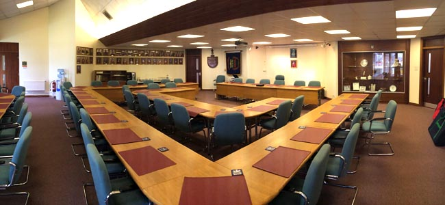 great aycliffe town council chamber