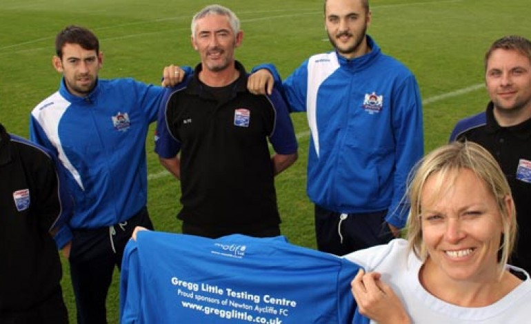 GREGG LITTLE SUPPORT FOOTBALL CLUB WITH SPONSORSHIP