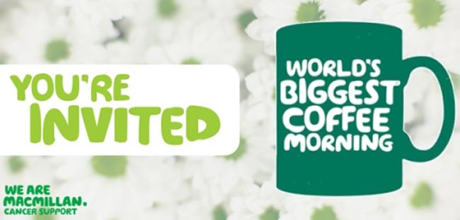 macmillan coffee morning