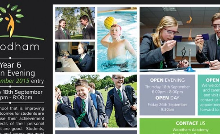WOODHAM ACADEMY YEAR 6 OPEN EVENING