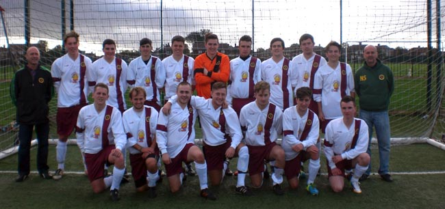 Newton Aycliffe U23's Away Strip Photo
