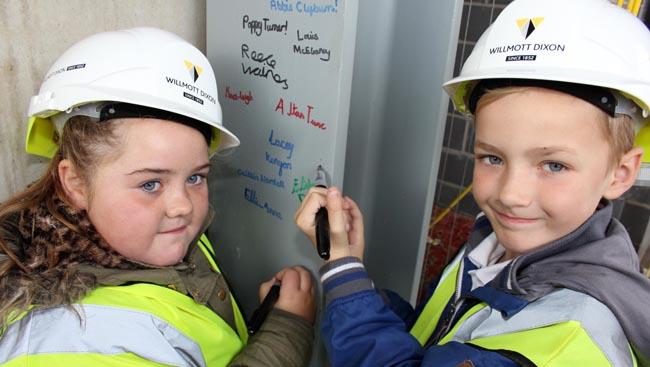 children sign finley steel