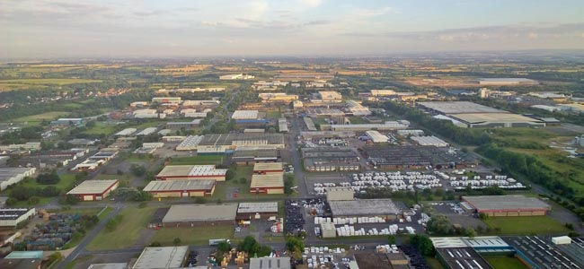 Aycliffe Business Park aerial pic - By Ray Simpson