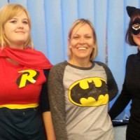 SUPER HEROES RAISE £360 FOR CHILDREN IN NEED!