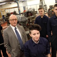 SOUTH WEST DURHAM TRAIN HITACHI'S FUTURE ENGINEERS
