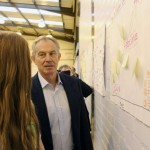 Tony Blair visits Woodham Academy Nov 2014 1