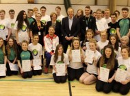 TONY BLAIR VISITS WOODHAM ACADEMY - PICTURES