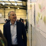 Tony Blair visits Woodham Academy Nov 2014 2