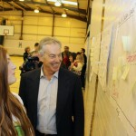 Tony Blair visits Woodham Academy Nov 2014 4