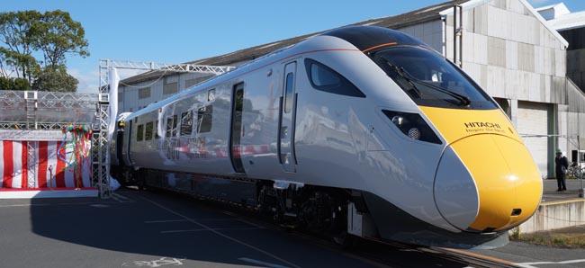 hitachi train for intercity express programme