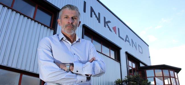 inkland managing director steve wilson
