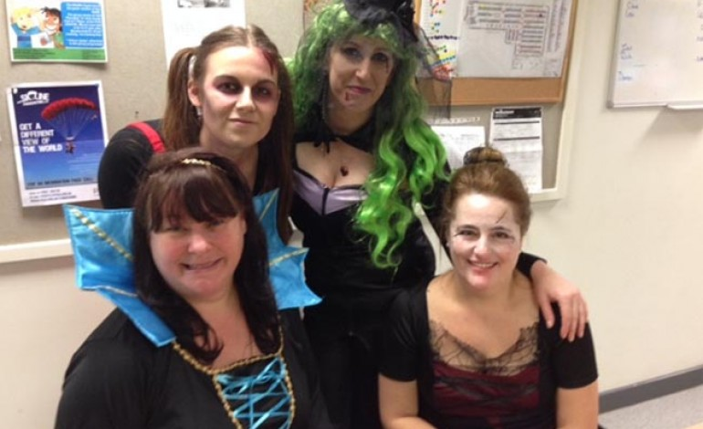 WILKO STAFF RAISE FANG-TASTIC £160 FOR CHARITY