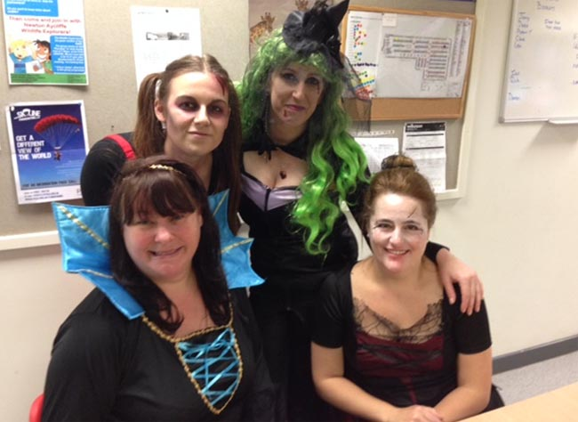 wilko staff raise spooktacular charity cash 1