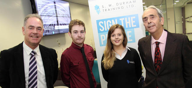 SWDT partnership with Bishop Auckland College - Dec 14