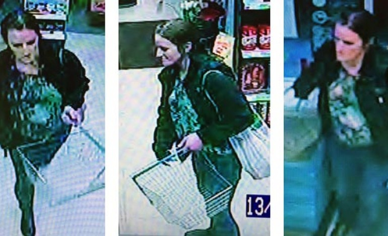 WOMAN SOUGHT BY POLICE