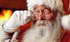 Santa's traditional Christmas Eve Tour around Aycliffe