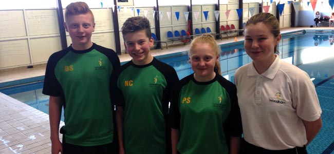 woodham academy swimming