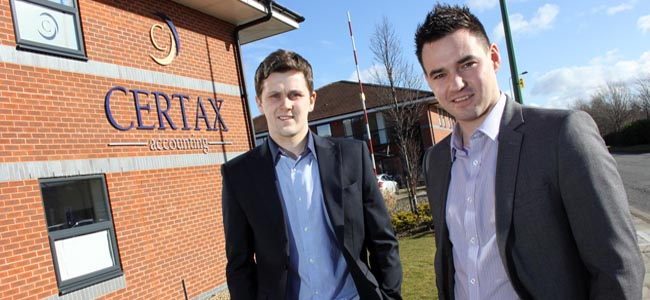 certax durham matthew and jonathan - press