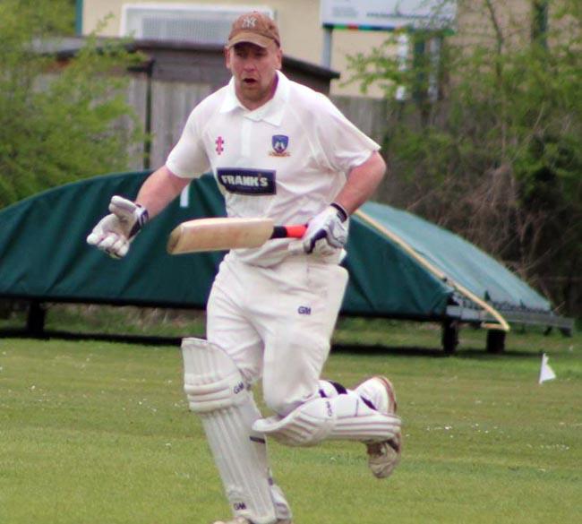 John Cavanagh batting