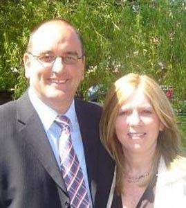 Mark Hall and wife Tina