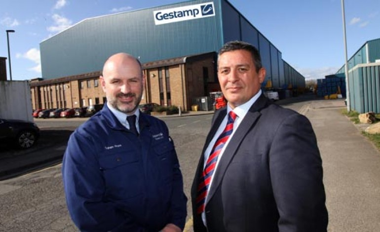 GESTAMP TALLENT GROWS AGAIN WITH £11M PLANT EXPANSION