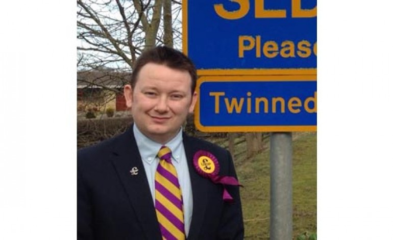 UKIP MAN SAYS FEMALE WRITER 'NEEDS A GOOD SHAG'