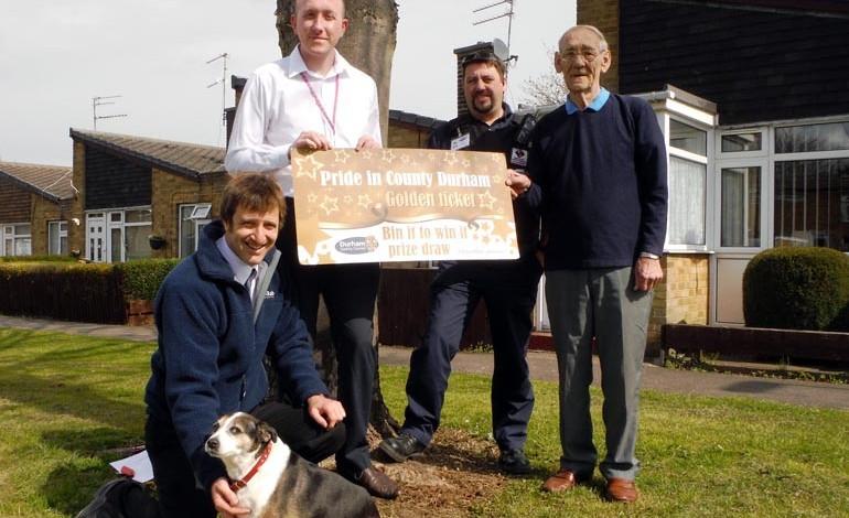 Responsible dog owner picks up cash prize