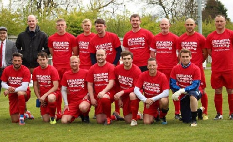 Leukaemia fund target in sight after charity match raises £912