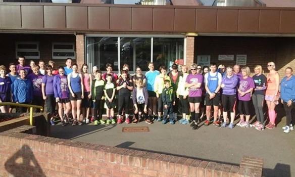 'Purple Predictor' charity run raises cash