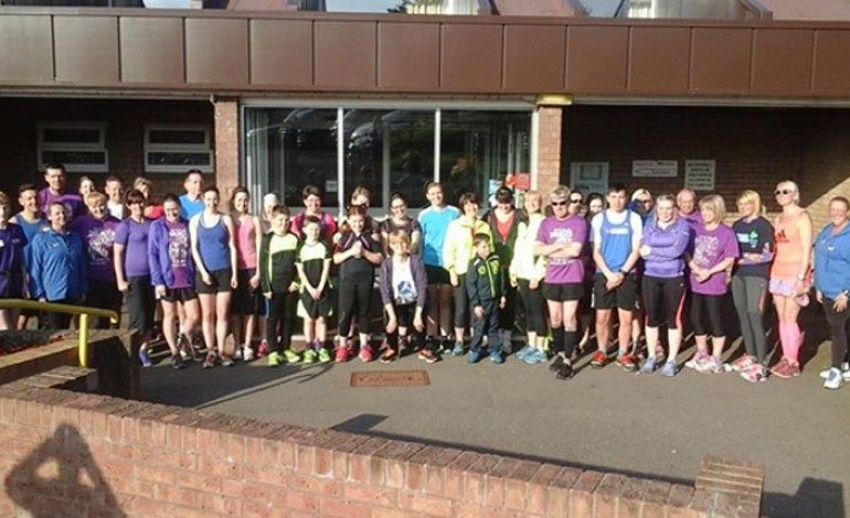 'Purple Predictor' charity run raises cash