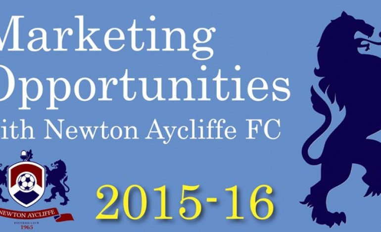 Sponsor Newton Aycliffe FC from just £300!
