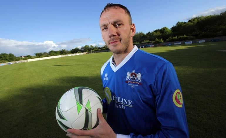'Success is my ambition' says Aycliffe's new star striker