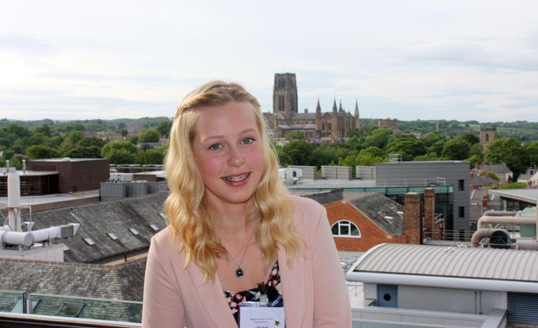 Aycliffe student bags Physicist of the Year award