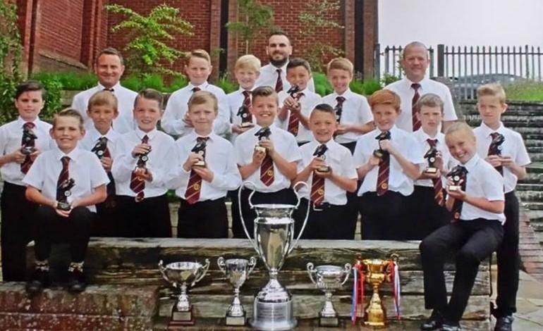 Young players honoured at awards bash