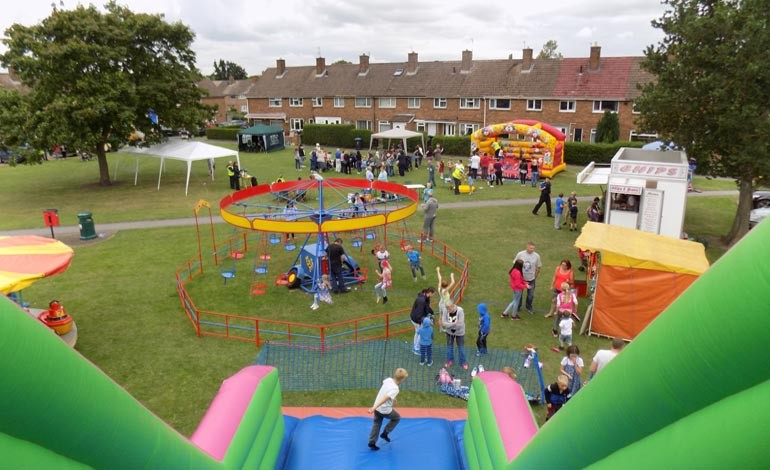 Residents enjoy ACORN summer fun day